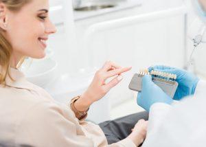 Dental implants look like natural teeth and restore full functionality.